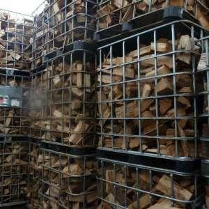 1000 liter korf ecologisch brandhout